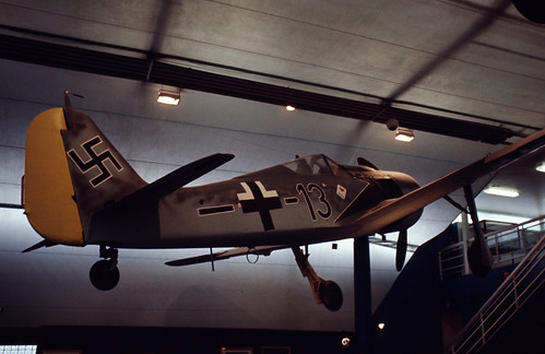 Focke Wulf FW-190 at the Musée de l' Air, Le Bourget, 1977