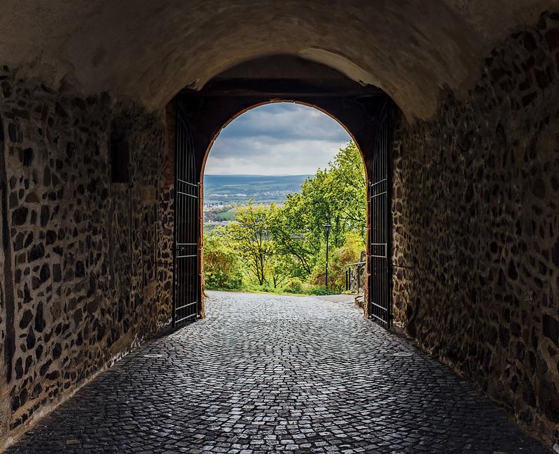 Tor zur Burg Gleiberg
