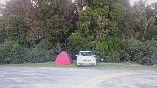 Nasz samochód i namiot w Nowej Zelandii | Our car and tent in New Zealand | by addictedtotravelpl