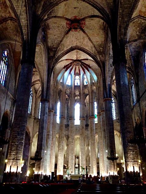 Barcelona. Santa Maria del Mar