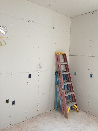 Southeast corner, drywall in - Day '11' | by neilathotep