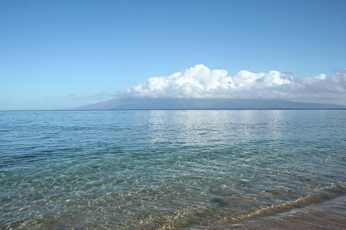 ocean blue sky water clouds day cloudy clear pacificocean molokai kaanapalibeach bessknight thewestinkaanapalioceanresortvillas knightimecreationsbybess