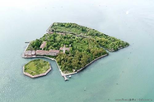 Poveglia Island, Italy.