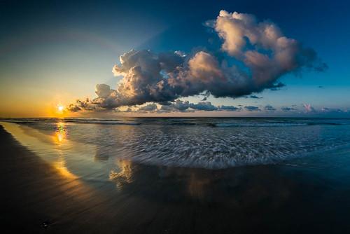 sun sunrise myrtlebeach unitedstates southcarolina july atlanticocean 2014