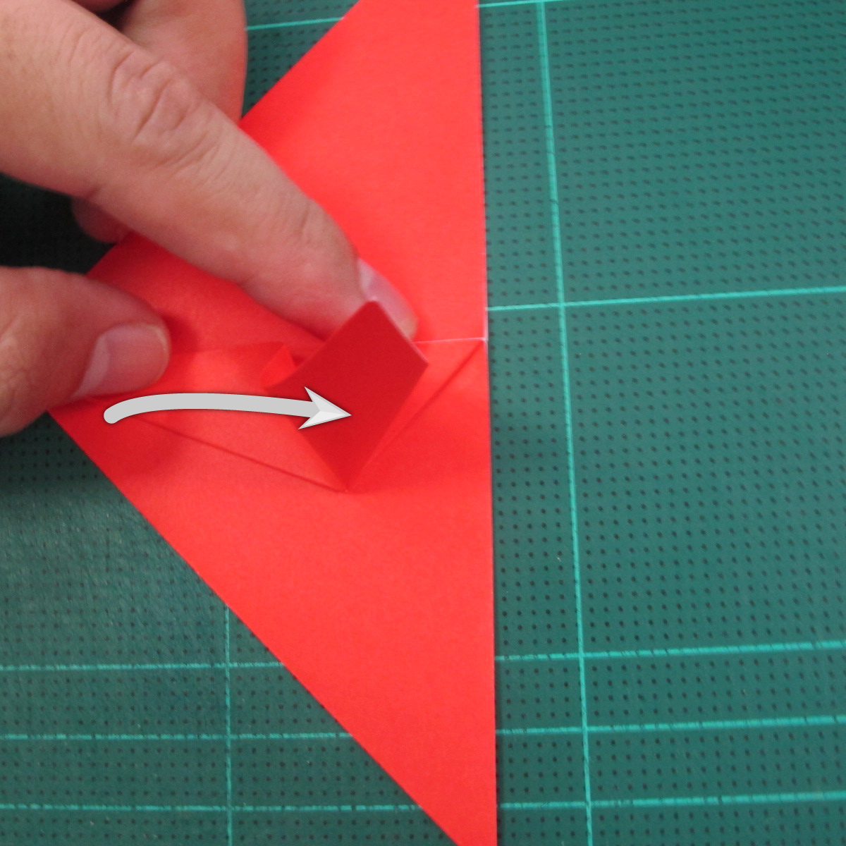 วิธีพับกระดาษเป็นรูปแมลงปอ (Origami Dragonfly) 009