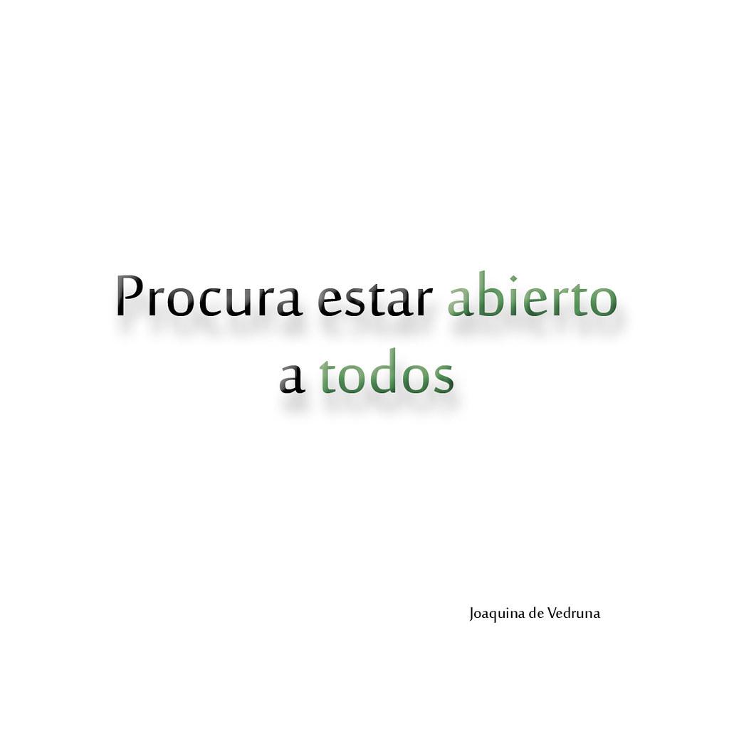 Frases De Joaquina De Vedruna Damián Buenvarón Flickr