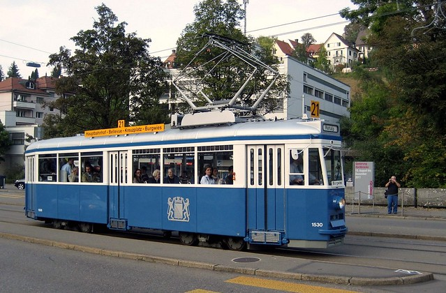 Tram Museum Zürich Museumslinie 21 (26.09.09)
