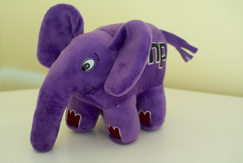 Purple elePHPant | by akrabat