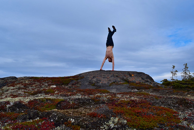 Handstand monts Severson