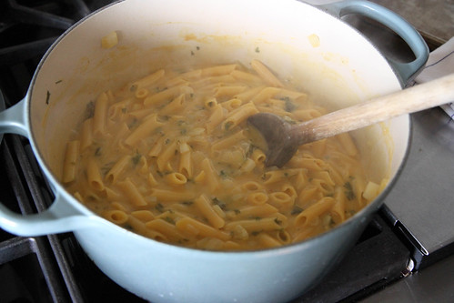 One Pot Creamy Pumpkin Pasta | by Heather Christo