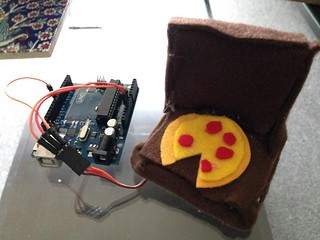Arduino Pizza Box