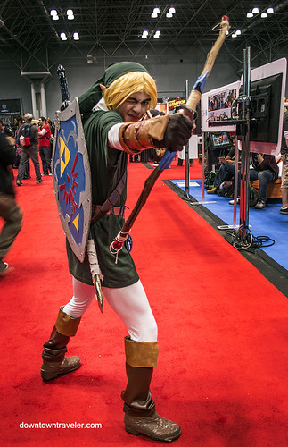 NY Comic Con 2014 Link Anime | by Downtown Traveler