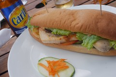 Fresh Grilled Fish Sub-Sandwich
