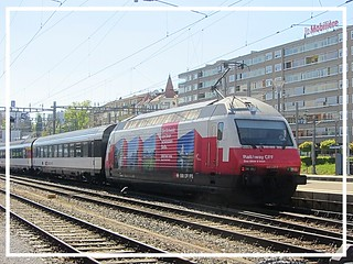 "SBB CFF FFS, Re 460 048-2 ""RailAway III"""