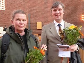 Stina Rautelin och Mattias Arveheim