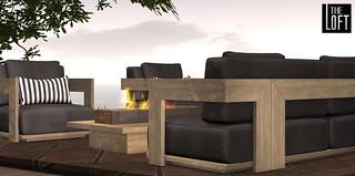 The Courland Outdoor Set @ Uber | by Colleen Desmoulins / Loft & Aria