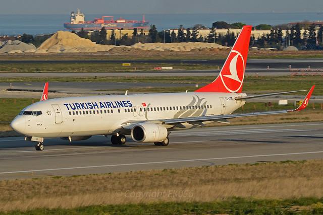Turkish Airlines Boeing 737-8F2(WL) TC-JGB