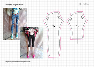 Monster High Pattern 3 | by threeeyedghoul