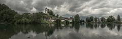 Regenwetter in Werdenberg, SG, Switzerland