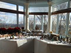 Solarium Christmas Display, Kip's Castle, Essex County, NJ