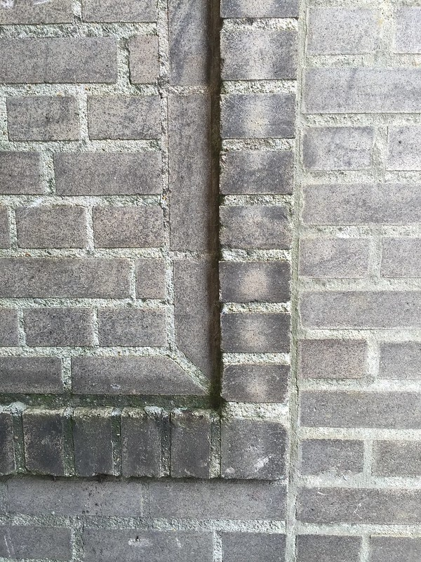 Brick detail, Lamar Life Annex