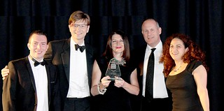 Centre for Digital Business wins Digital Entrepreneur Award | by University of Salford