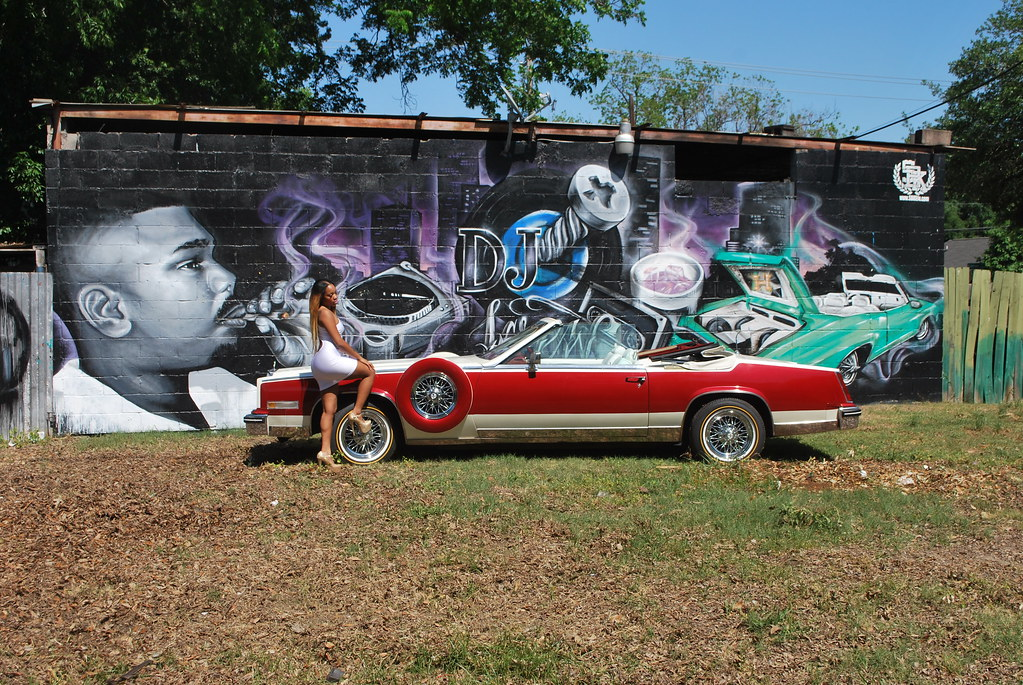 Dj Screw Mural the SBK TEAM painted | Check out the DJ SCREW