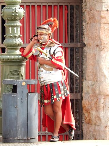 Verona - Rome aan de telefoon