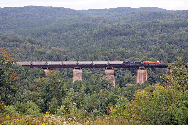 Southern Belle on Wells Viaduct