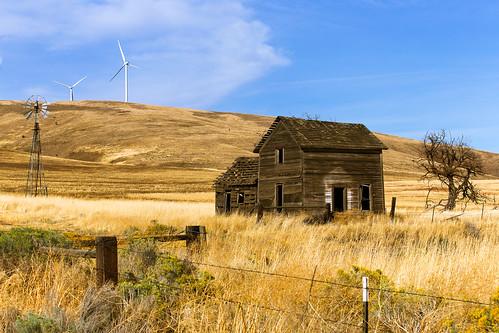abandoned windmills homestead kittitascounty highway8 goodnoehillswa