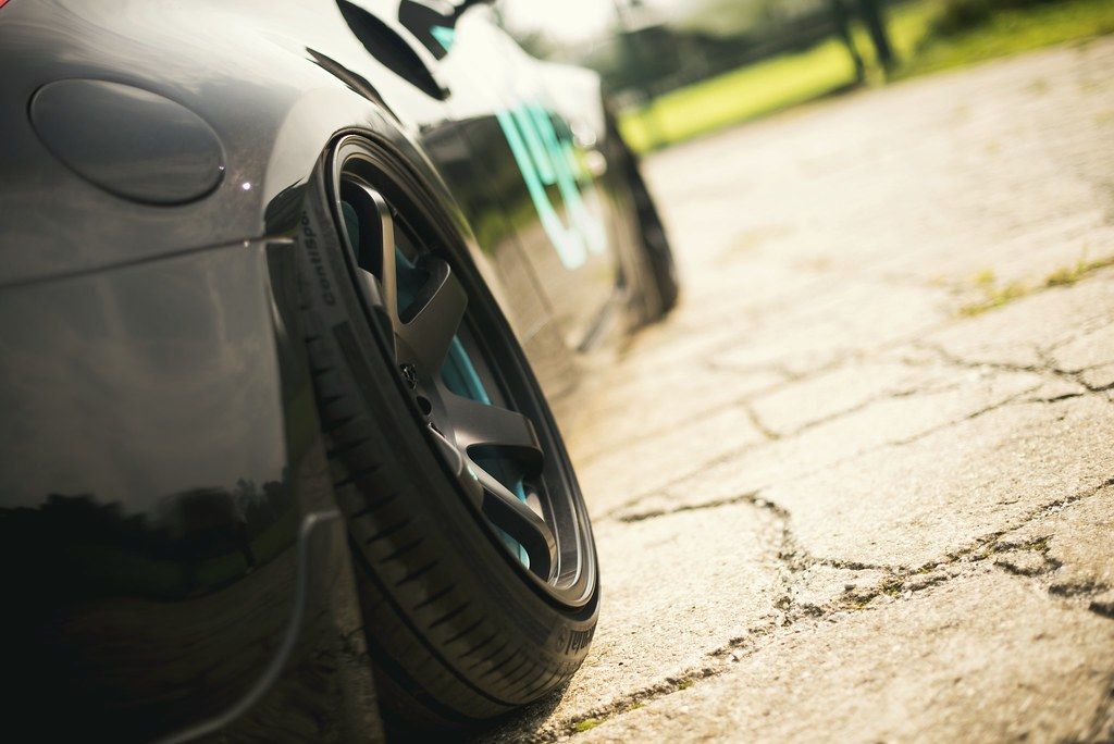 Nissan 350Z | JR-3 19x9 5 + 19x10 5 Matt Black | JR-Wheels | Flickr