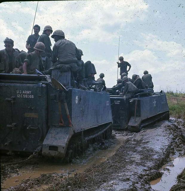 M113 acav 1/61st Infantry 5th Infantry Division