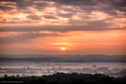 morning england sky sun mist clouds sunrise unitedkingdom sony a77 wittenhamclumps littlewittenham sonyalpha andyhough slta77 sonyzeissdt1680 andyhoughphotography
