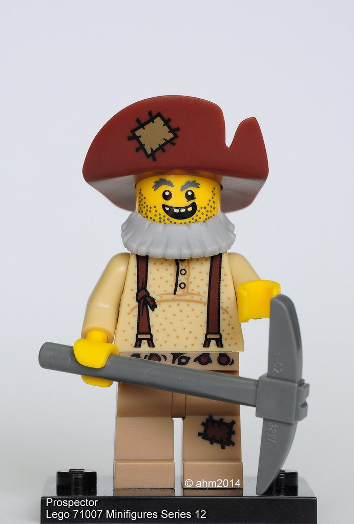 Lego 71007 Minifigure Series 12 Prospector NEW