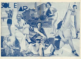 Moda de Verão, 1932 | summer fashion | by Hemeroteca Municipal de Lisboa (Portugal)
