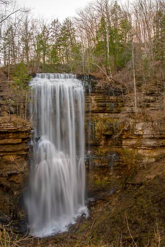 virginfalls whitecounty tennessee waterfall