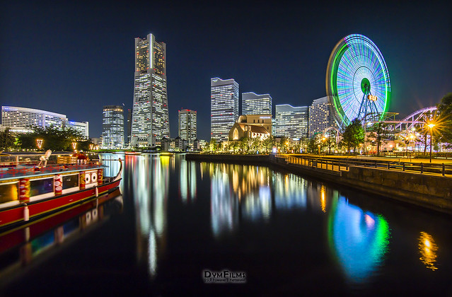 Minato Mirai reflections