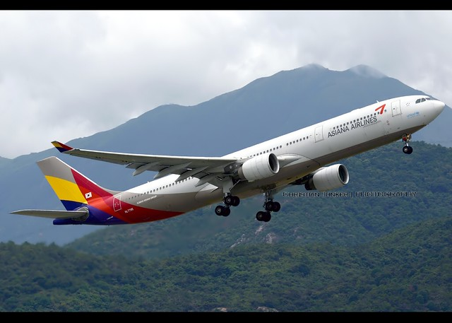 A330-323 | Asiana Airlines | HL7795 | HKG