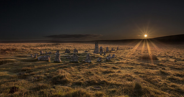 Down Tor Stone Circle (explored)