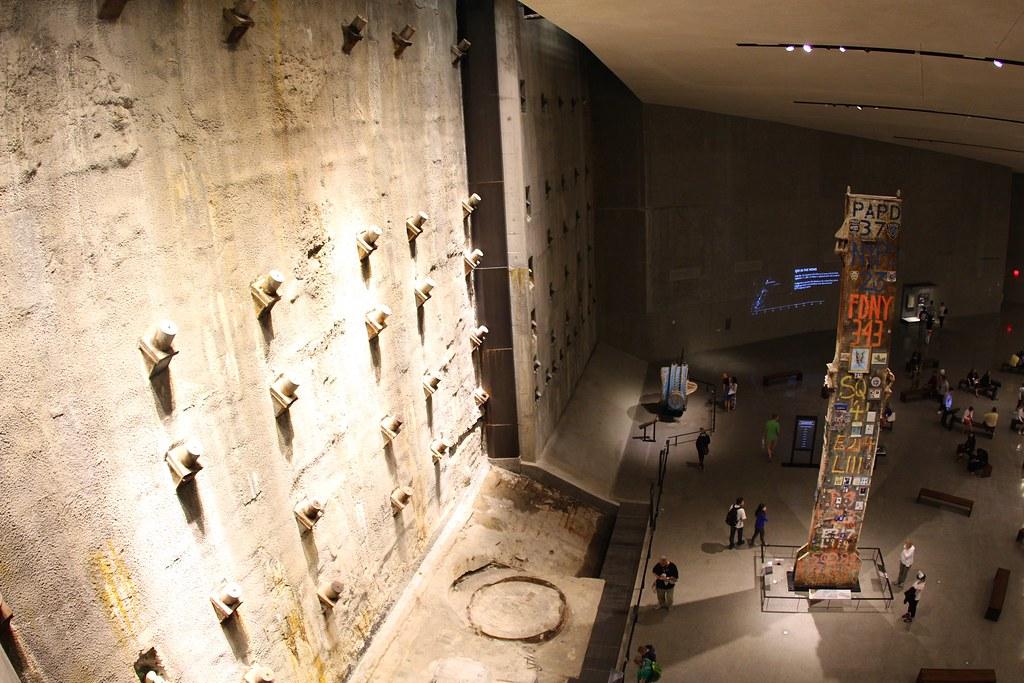 Inside the WTC Memorial