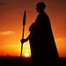 Image: Maasai at Sunrise