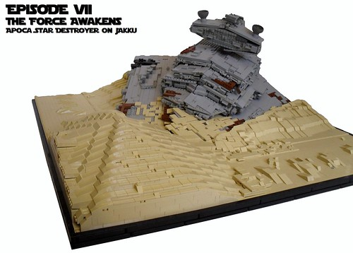 Episode VII-The Force Awakens-Apoca Star Destroyer on Jakku