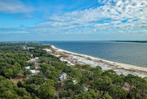 pensacola lighthouse beach dunes gulf gulfofmexico