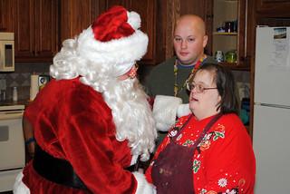 Santa Visits Rosewood 2016