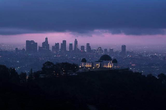 5AM light // Los Angeles