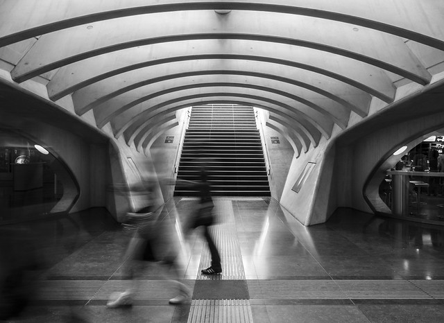 the ghosts of Guillemins