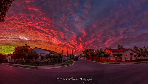 feb1 mybackgate sunset westcroydon southaustralia australia au