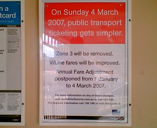 Removal of zone 3 poster, February 2007 | by Daniel Bowen