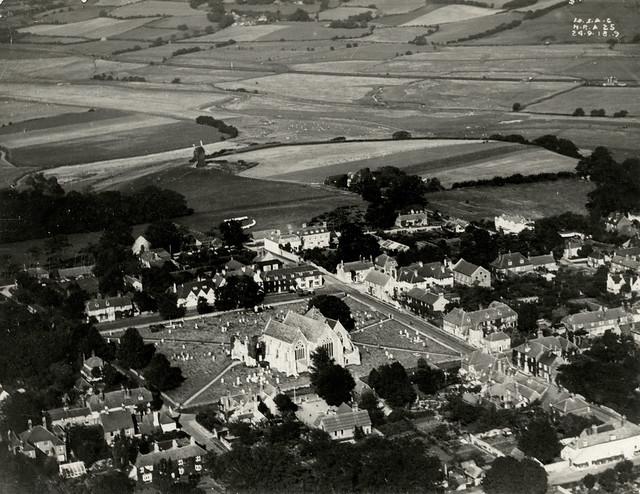 Aerial Photograph | Winchelsea Church | c.1918