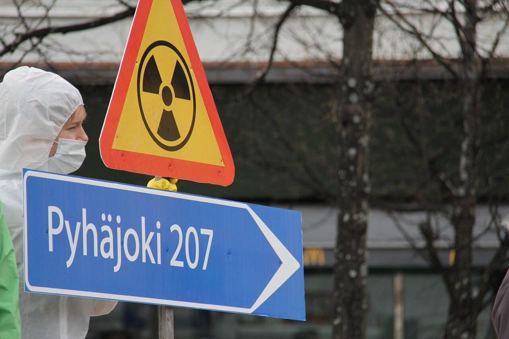 Ei Fennovoiman ydinvoimalalle! No to Fennovoima's nuclear power plant!